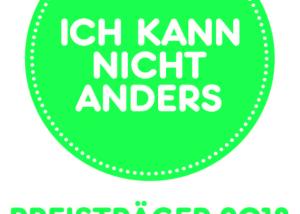 """Wir sind Preisträger 2013: """"Ich kann nicht anders"""""""