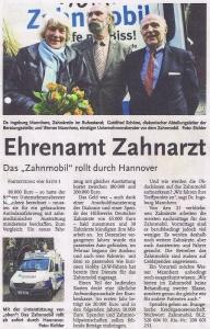 Beitrag hallo Wochenblatt Hannover: Ehrenamt Zahnarzt 02_05_2012