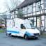 Das Zahnmobil Hannover von außen