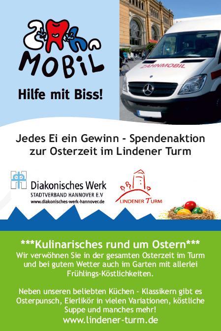 Spendenaktion Lindener Turm Zahnmobil